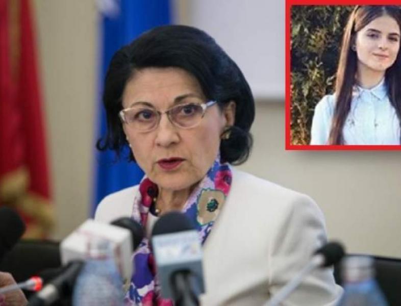 Ecaterina Andronescu, Ministrul educației, a fost demisă