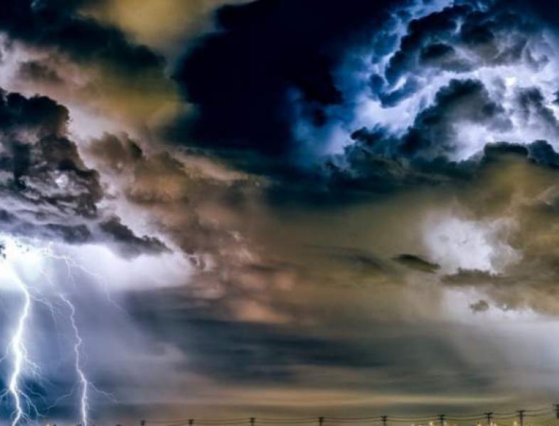 După caniculă, furtuni