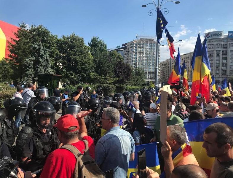 Protestul din 10 august a primit undă verde