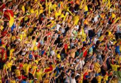 Stadion plin la meciul naționalei cu Spania