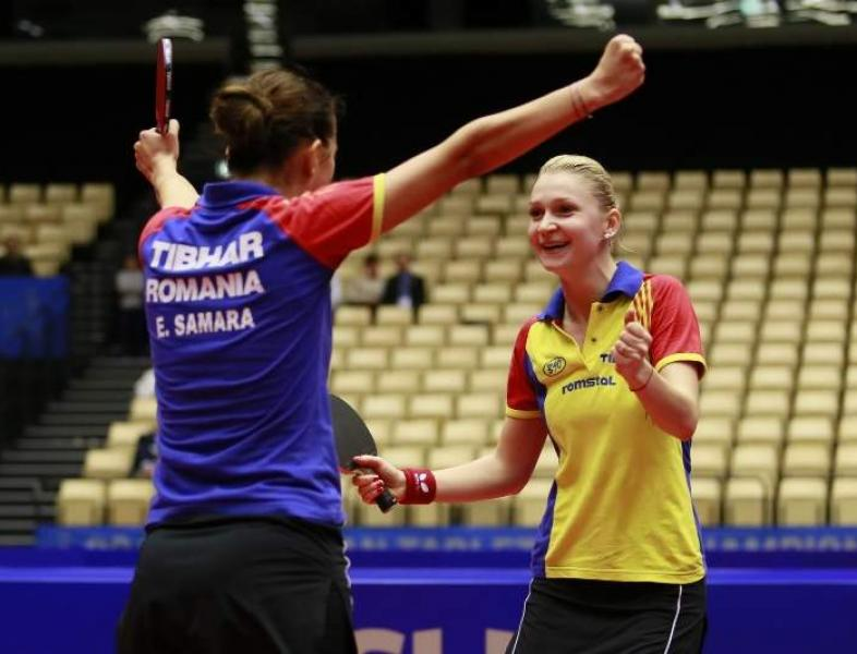 Naționala feminină de tenis de masă este din nou, campioană europeană.