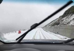 Zăpadă și restricții pe Transalpina
