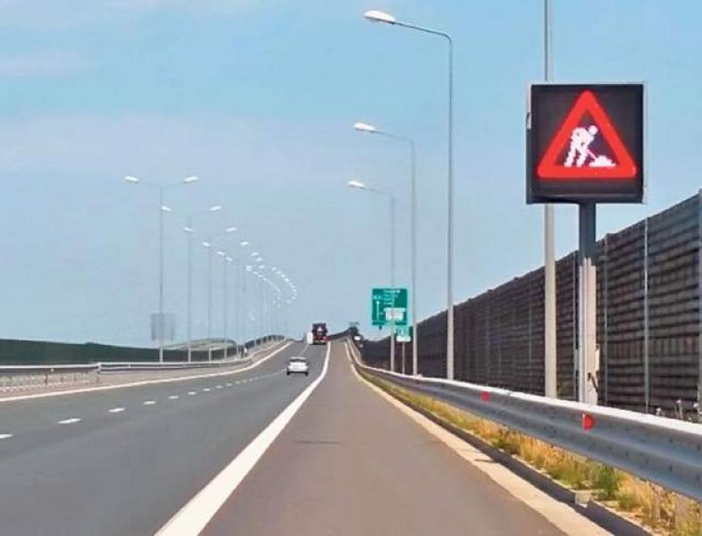 Lucrări și restricții de viteză pe A2
