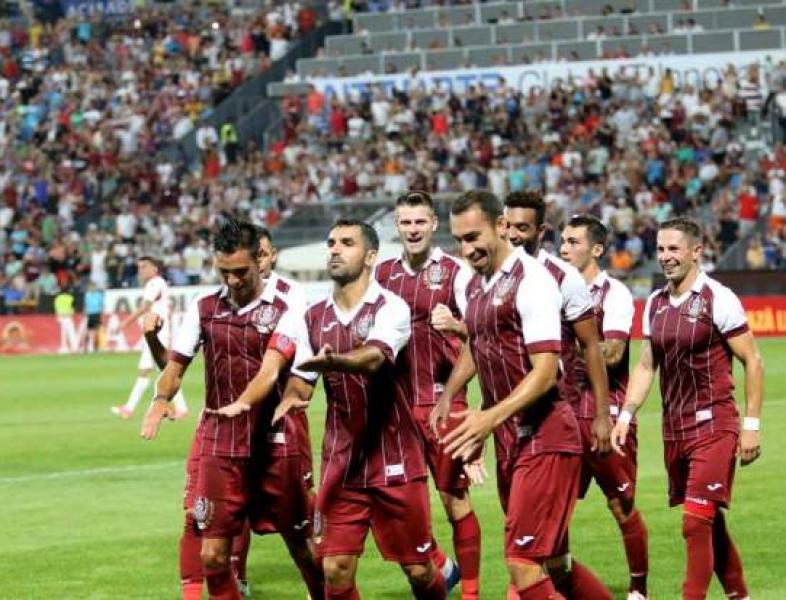 CFR Cluj poate obţine diseară calificarea în 16-ile Ligii Europa