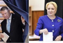 Klaus Iohannis şi Viorica Dăncilă se vor confrunta în turul al doilea al alegerilor prezidenţiale