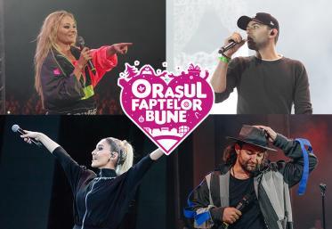 Programul concertelor din Orașul Faptelor Bune 2019
