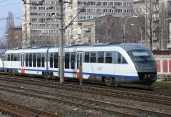 Din Mogoşoaia în Bucureşti, pe calea ferată.