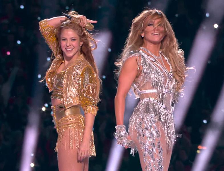 Shakira și Jennifer Lopez, show incendiar la Super Bowl 2020