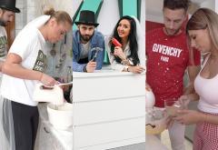 #LuptaPentruNunta: Cei mai buni la montat mobilă și testul culinar (video)