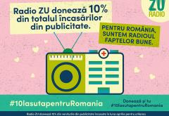 Radio ZU donează 10% din totalul încasărilor din publicitate