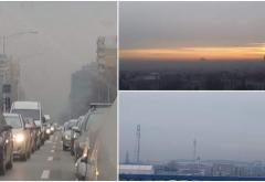 Poluare record azi-noapte, în Bucureşti