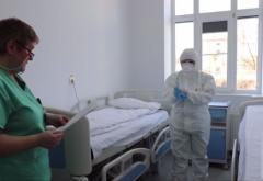 Trei spitale în carantină în țară