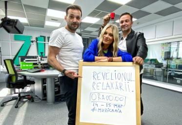 """""""Revelionul Relaxării"""" la Radio ZU: Pe 14 mai, de la ora 23:00, suntem gata să ieșim împreună din starea de urgență"""
