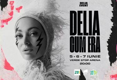 Delia te invită la primul concert care respectă toate regulile de distanțare socială