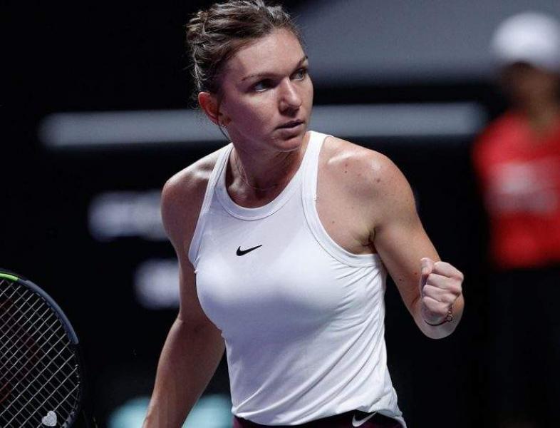 Simona Halep joacă tenis la Cluj-Napoca