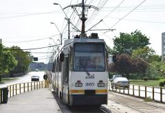 De la 1 iulie, unele autobuze din Bucureşti vor circula şi pe liniile tramvaielor