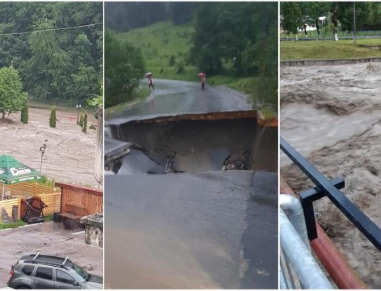 Probleme mari în urma ploilor abundente