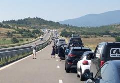 Drum dificil pentru turiști spre Grecia