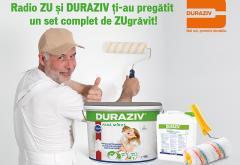 """Radio ZU și Duraziv ți-au pregătit un set complet de zugrăvit """"Fără Miros"""""""