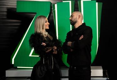 """Marea Unire ZU 2020: Spike și Andia cântă """"Salcâmii"""" cu un invitat surpriză"""