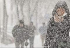 Atenționare de ninsori, polei și vânt pentru jumătatea de sud a țării