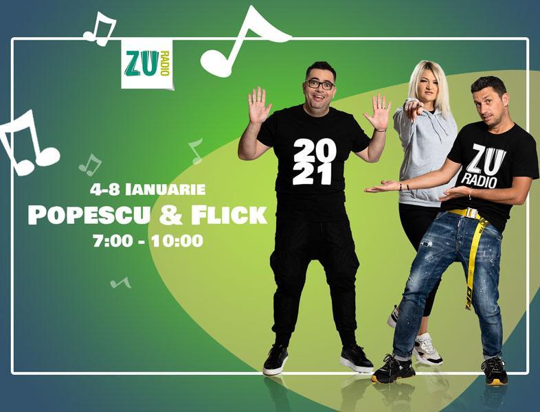 Popescu și Flick prezintă ediția de iarnă a matinalului de vacanță de la ZU