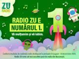 ZU este radioul NUMĂRUL 1 în București. Vă mulțumim!