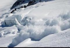Pericol de avalanșă în Munții Bucegi