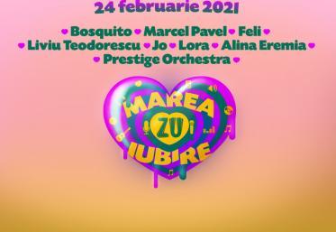 MAREA IUBIRE ZU. De Dragobete, live în studio