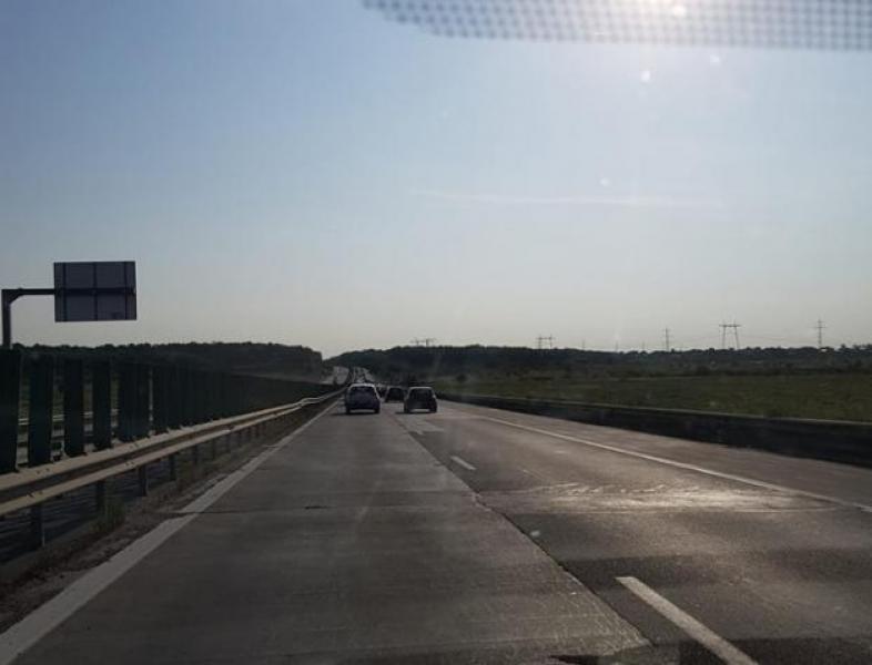 Circulație deviată pe Autostrada Soarelui