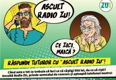 "Răspunde la telefon cu ""Ascult Radio ZU"" și ia-ne banii!"
