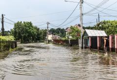 Avertizare de inundații prelungită în județul Bihor