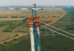 Podul de la Brăila va fi gata la sfârșitul anului viitor