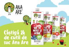 """Câștigă la ZU sucurile naturale de la """"Ana Are"""""""