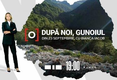 """Respirăm gunoi, ne otrăvim cu gunoi! Campania """"După noi, gunoiul"""" începe la Observator 19, joi, pe 23 septembrie"""