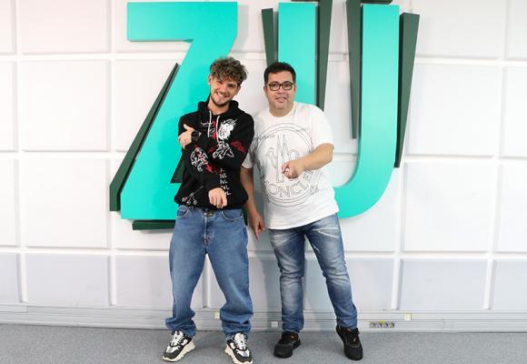 """Cuza:  """"Pentru mine este o super provocare să fiu partenerul de emisiune al lui Răzvan Popescu!"""""""