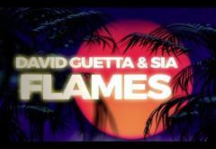 David Guetta & Sia - Flames | LYRIC VIDEO
