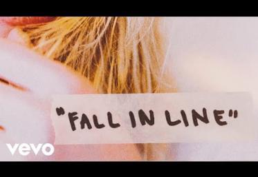 Christina Aguilera - Fall In Line ft. Demi Lovato | LYRIC VIDEO