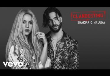 Shakira, Maluma - Clandestino | PIESĂ NOUĂ