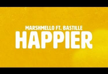 Marshmello ft. Bastille - Happier | LYRIC VIDEO