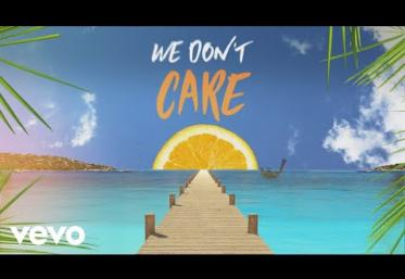 Sigala, The Vamps - We Don´t Care | LYRIC VIDEO