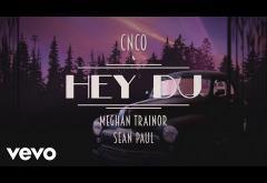 CNCO, Meghan Trainor, Sean Paul - Hey DJ   LYRIC VIDEO