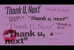 Ariana Grande - Thank U, Next | PIESĂ NOUĂ
