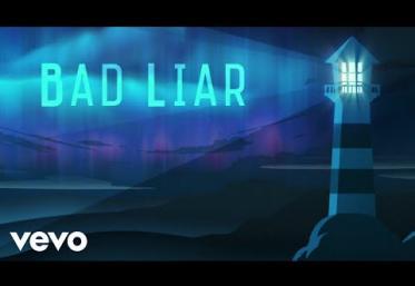 Imagine Dragons - Bad Liar | LYRIC VIDEO
