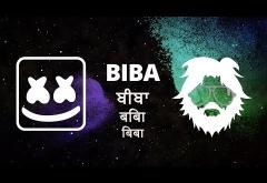 Marshmello x Pritam feat. Shirley Setia - Biba | lyric video