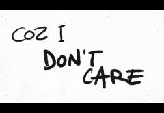 Ed Sheeran & Justin Bieber - I Don´t Care | lyric video