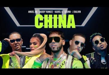 Anuel AA, Daddy Yankee, Karol G, Ozuna & J Balvin - China | videoclip