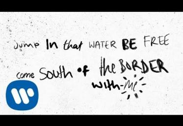 Ed Sheeran feat. Camila Cabello & Cardi B - South of the Border | lyric video