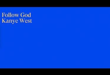 Kanye West - Follow God | lyric video