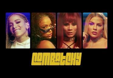 Anitta, Lexa, Luisa Sonza feat MC Rebecca - Combatchy   videoclip